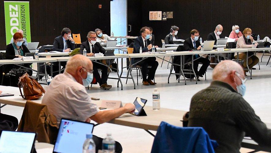 Le conseil d'agglomération s'est tenu hier soir, à la salle  des fêtes de Rodez.