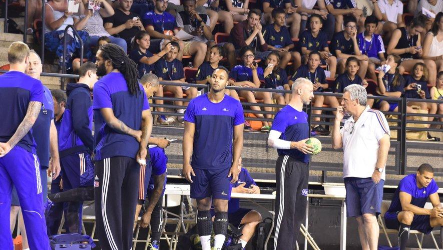 L'Aveyron a déjà eu droit à des rendez-vous avec les Jeux, à l'image du stage de l'équipe de France masculine de handball à Rodez avant les JO de Rio, en 2016.