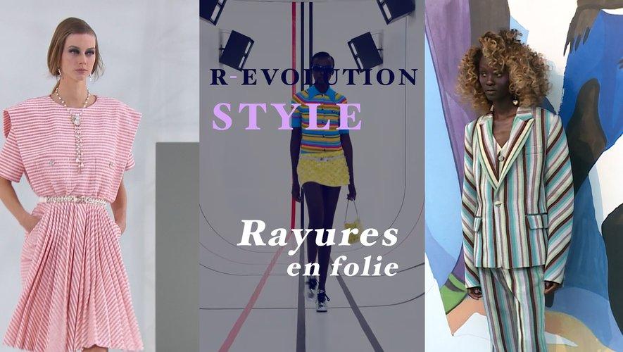 R-Evolution Style : Rayures en folie