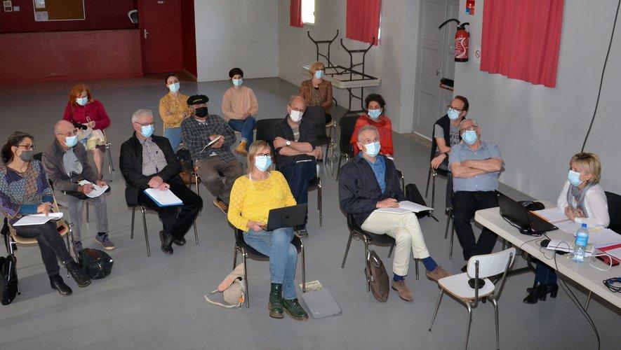 """Les acteurs du dispositif """"greeters d'aicí"""" se sont retrouvés à Nauviale."""