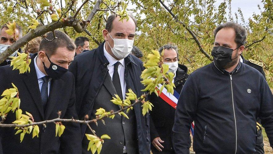Le Premier ministre en visite dans le sud de la France au lendemain des fortes gelées qui ont touché de nombreuses exploitations.
