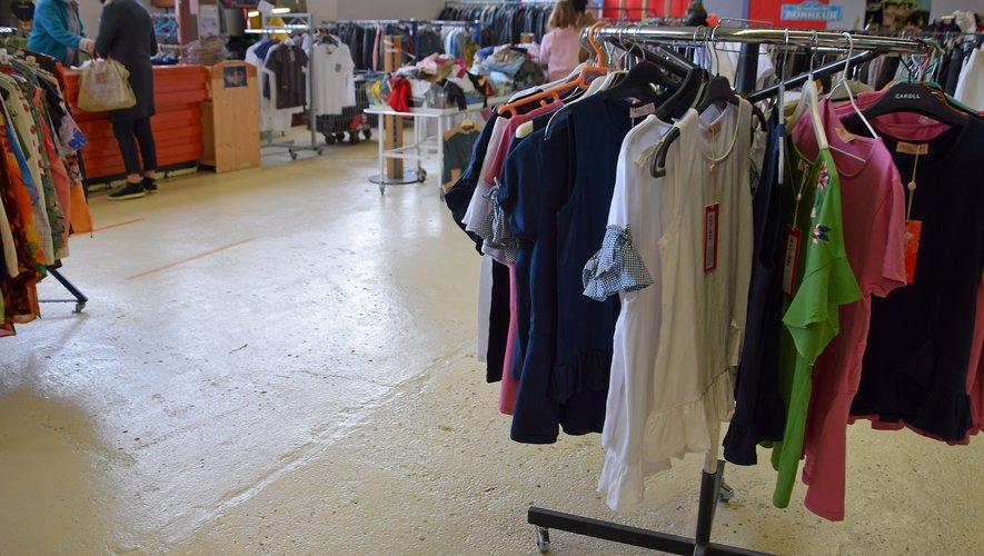 Les boutiques de l'association font vivre 29 accompagnons.