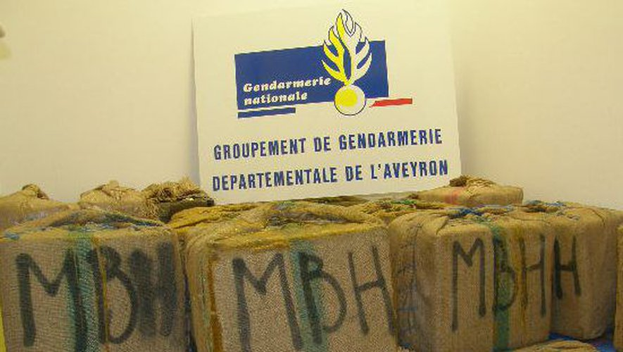 Les douaniers avaient saisis 1,3 tonne de résine de cannabis dans 36 «valises marocaines».