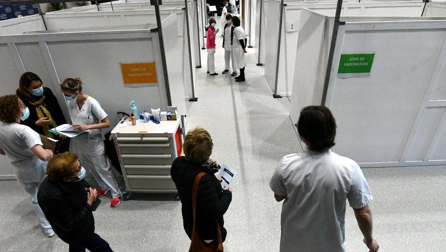À l'Athyrium, l'Aveyron inaugure son premier vaccinodrome