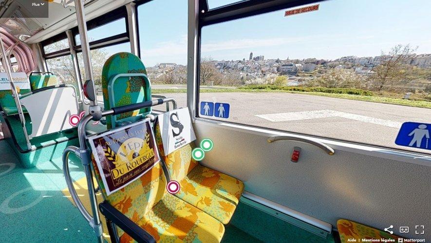 Les annonces attendent les candidatures, confortablement installées dans un bus… en ligne.