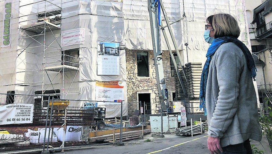 Les 4 millions du Pôle culturel grèvent le budget de la commune et impacte les habitants./Photo MCB.