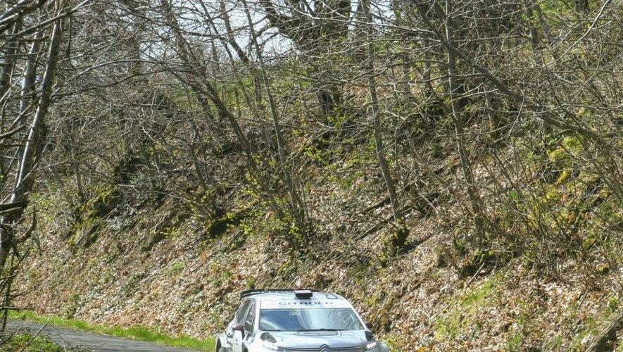 La base d'essai du Nayrac a servi de cadre pour les tests de Citroën.