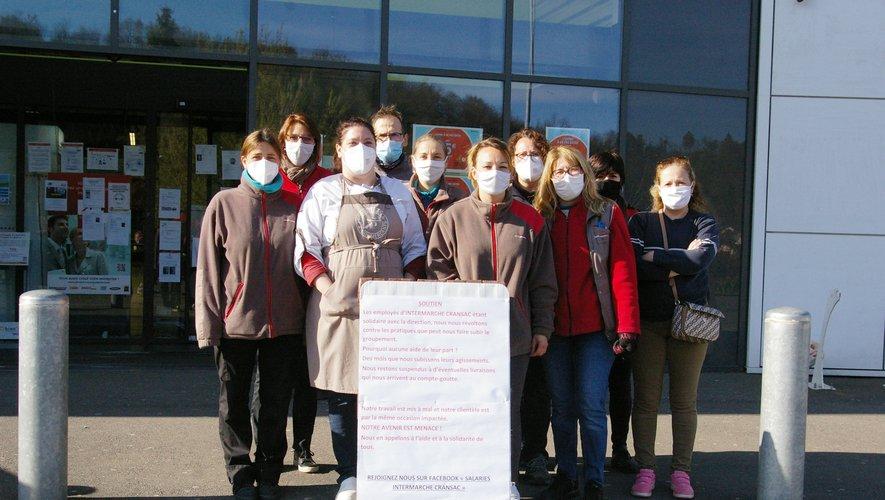 C'est l'ensemble des 32 salariés d'Intermarché qui s'est réuni en collectif auteur de la pétition.