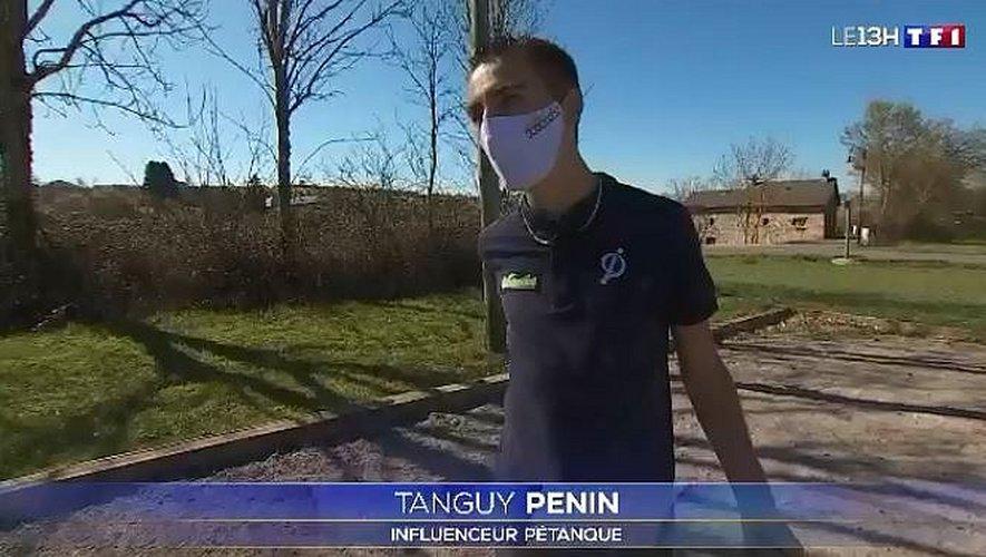 Tanguy Pénin le tireur fou était ce mercredi au JT de 13 heures sur TF1.