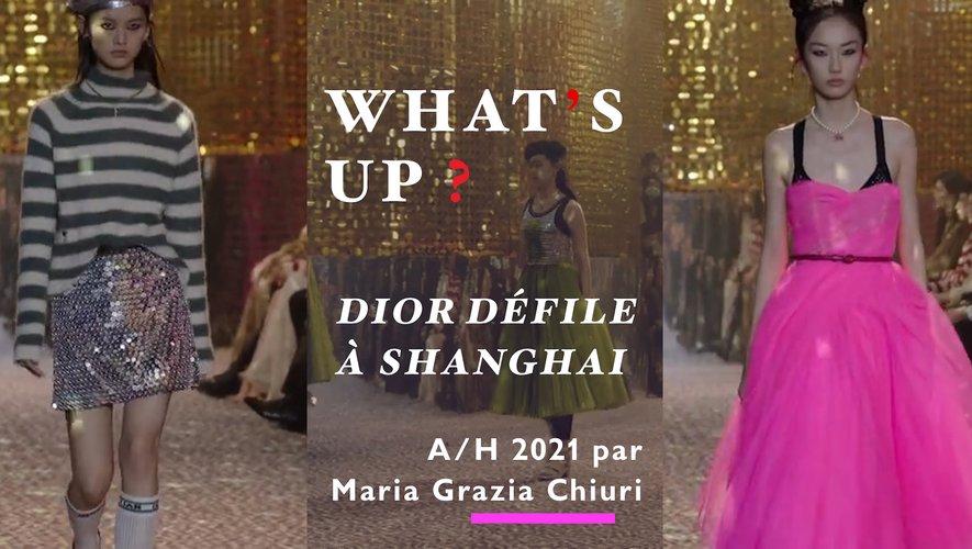 Paris Modes Insider revient sur le défilé de la maison Dior à Shanghai.