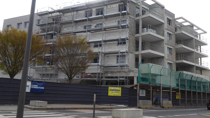 """La résidence """"Les Bûcherons"""" accueillera 33 logements locatifs du T1 bis au T5."""