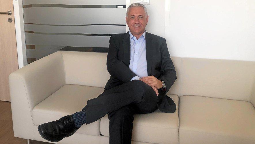 Laurent Paul a pris ses fonctions de directeur de Pôle emploi en Aveyron et dans le Tarn à l'automne 2020.