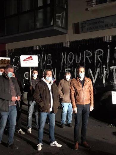 Arnaud Viala aux côtés des agriculteurs