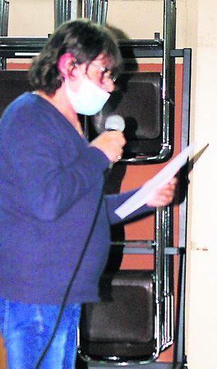 Joëlle Sanchez a donné lecture des subventions attribuées à chacune des associations de la ville.