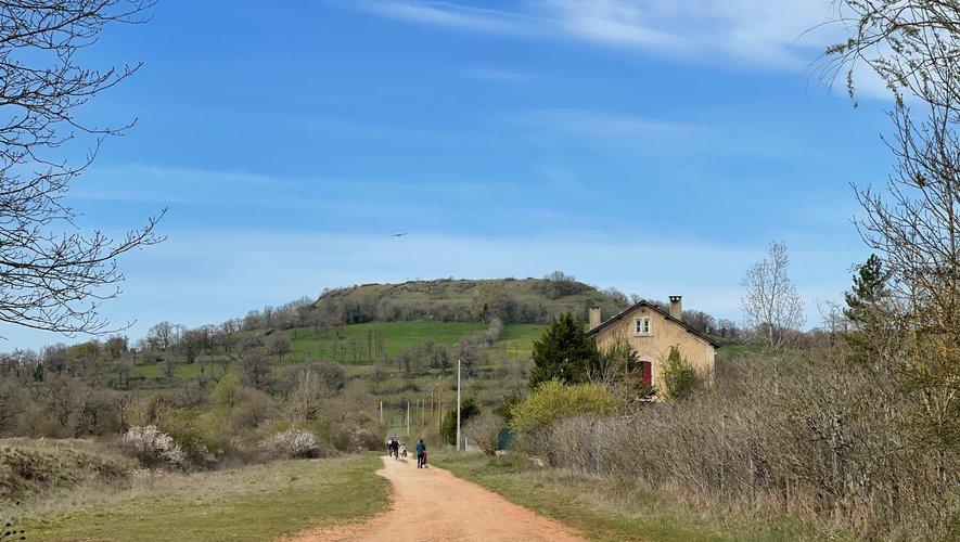 D'Espalion à Bertholène, sur la voie verte…