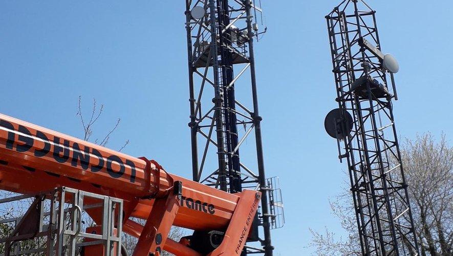 Nouvelle antenne téléphonique au relais de Viviole