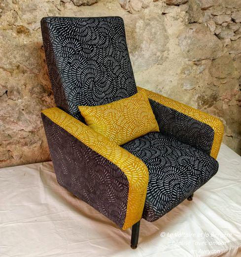 Mélanie Vandenberghe, des mains en or pour relooker chaises et fauteuils