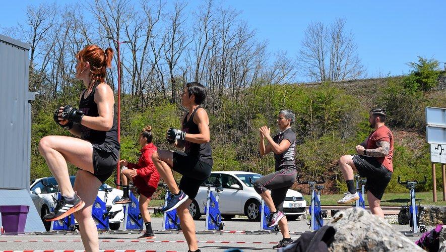 Bodyfit est la première salle de sport à Rodez à proposer des cours à l'extérieur.