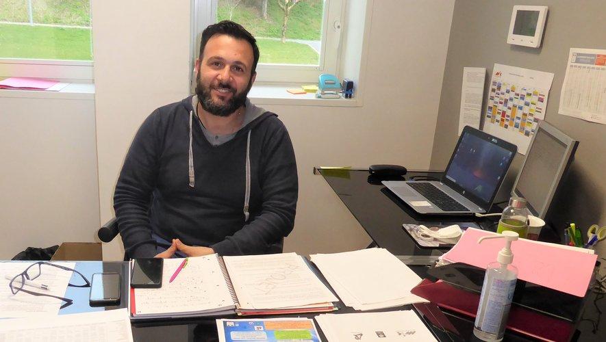 Guillaume Verdier, le nouveau directeur de la MJC qui a remplacé Rémi Planchenault début mars.