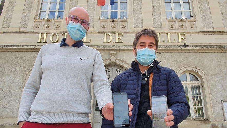 Jean-Marie Bugarel et Frédéric Pourcel peuvent s'appuyer sur les retours des Villefranchois sur PopVox.
