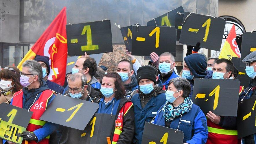 Les salariés de Sam ont prévu une nouvelle mobilisation  ce mardi soir, cette fois  devant l'usine à Viviez.