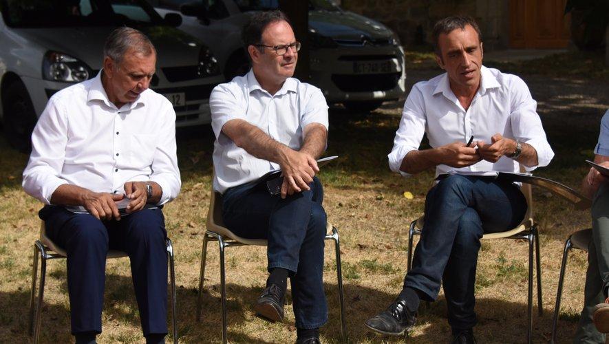 Jean-Claude Luche et Alain Marc soutiennent Arnaud Viala.