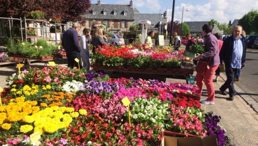 Un marché aux fleurs et aux plants sera présent ce jour-là.