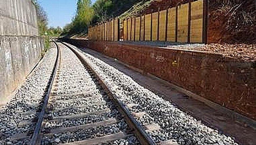 Plusieurs travaux ont été nécessaires pour sécuriser la voie ferrée.