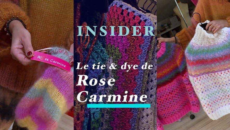 Insider : Le tie & dye de Rose Carmine