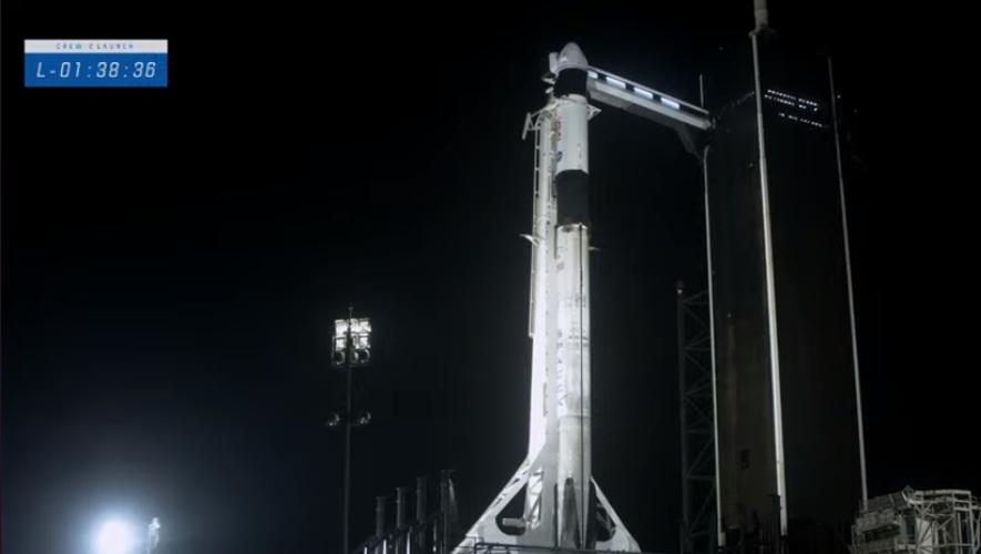 Décollage imminent pour l'astronaute français.