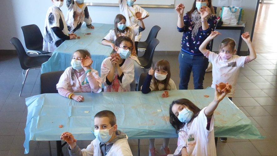 Les participants à cet atelier animé par Marie.