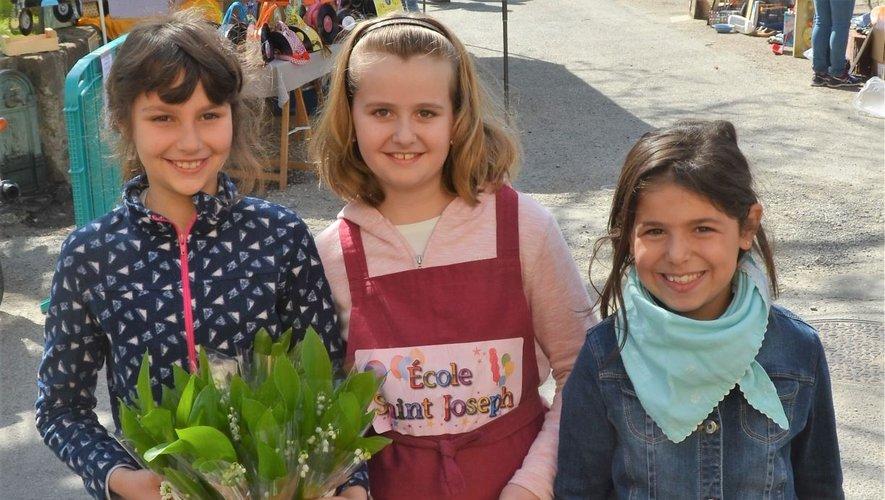 Comme en 2019, les élèves de l'école Saint-Joseph seront heureux  de proposer le traditionnel brin  de muguet pour le premier mai.