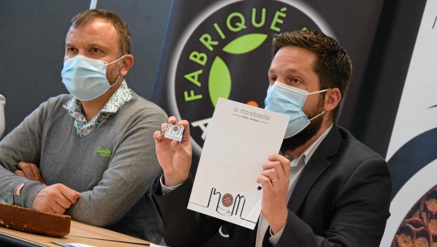 Mathieu Ginestet, président de l'association la Mandarelle a présenté les produits dérivés.