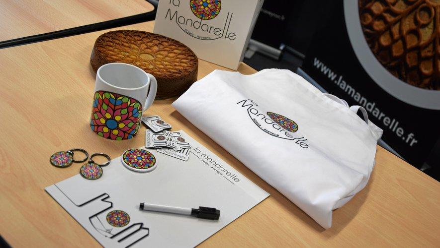 Six objets colorés sont à retrouver dans les pâtisseries et sur la boutique en ligne.