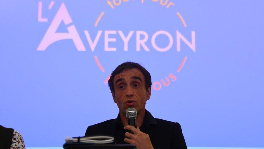 Arnaud Viala s'est lancé lundi.