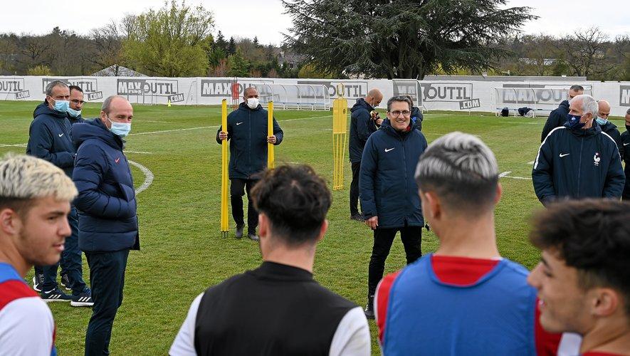 Les jeunes Ruthénois ont côtoyé de futurs entraîneurs professionnels.