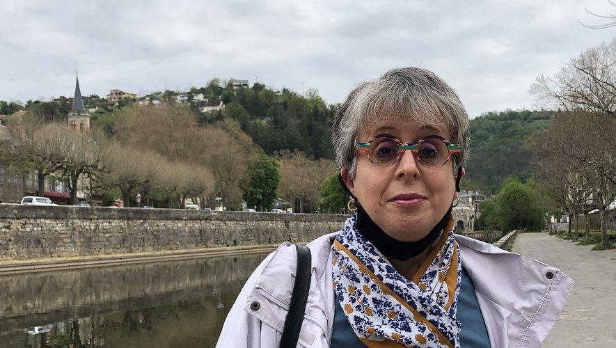 Nathalie Carayon, l'une des porte-parole des familles de résidents de l'Ehpad de Rulhe.