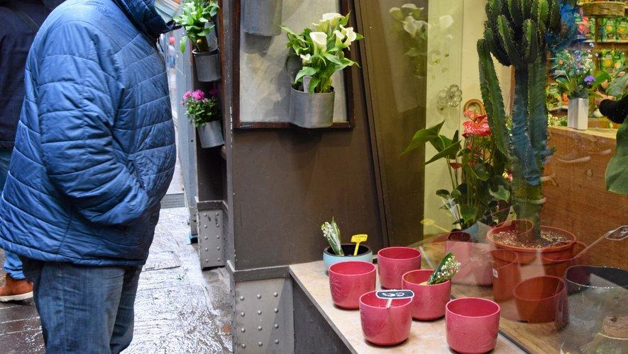 Les petites cloches du fleuriste Bec (rue du Touat) ont aussi eu beaucoup de succès.