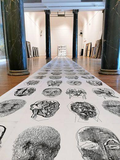 Au musée Denys-Puech, Carole Bouzid, présentera son exposition «Face à faces».