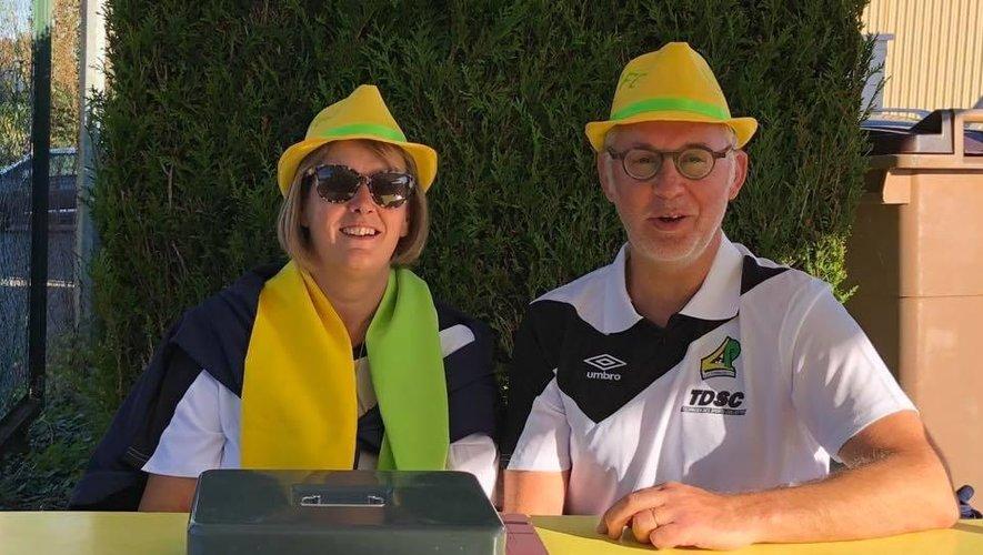 Myriam Alauzet et Thierry Olier, les futurs présidents de LPFC.