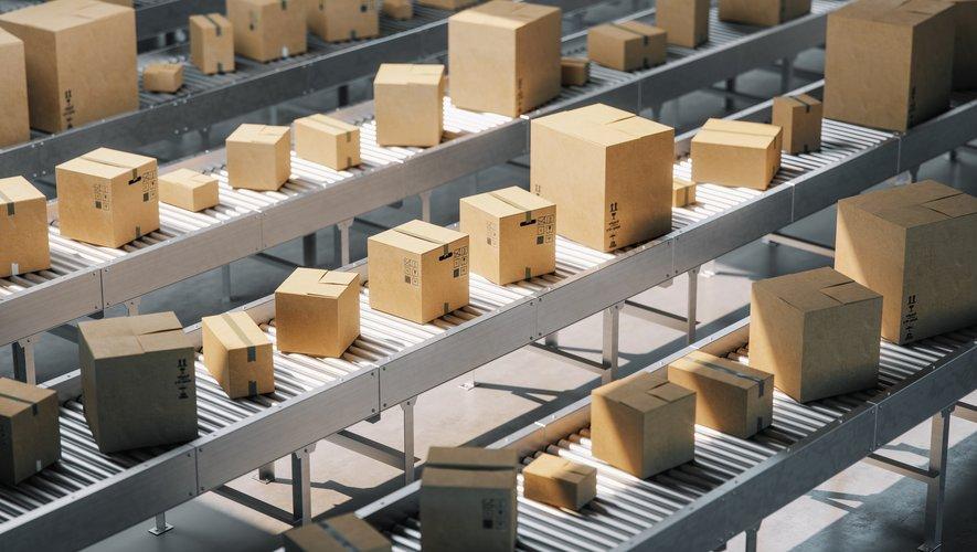 A la Poste, le nombre de colis transporté a augmenté de 50% au premier trimestre, pour atteindre 2 millions par jour.