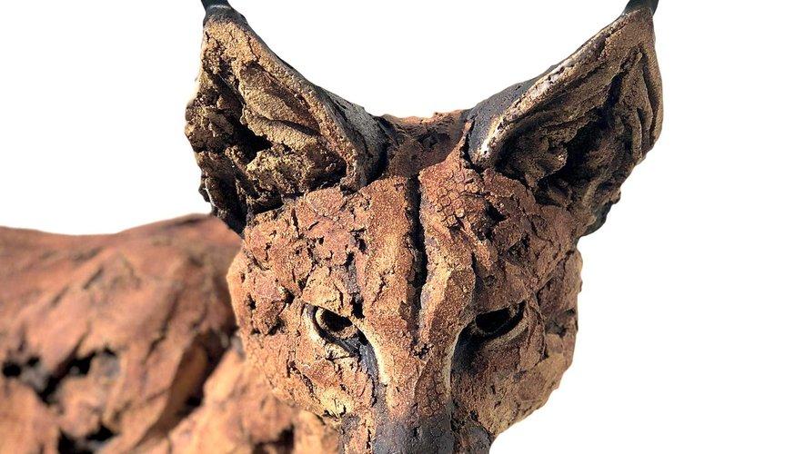 Un beau lynx de Simon Griffiths à découvrir au Fel.