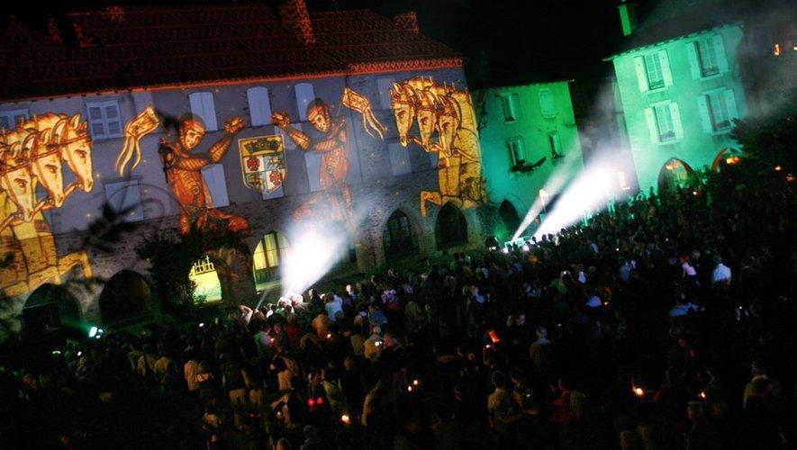 La Nuit des lumières de Sauveterre-de-Rouergue restera assise cette année.