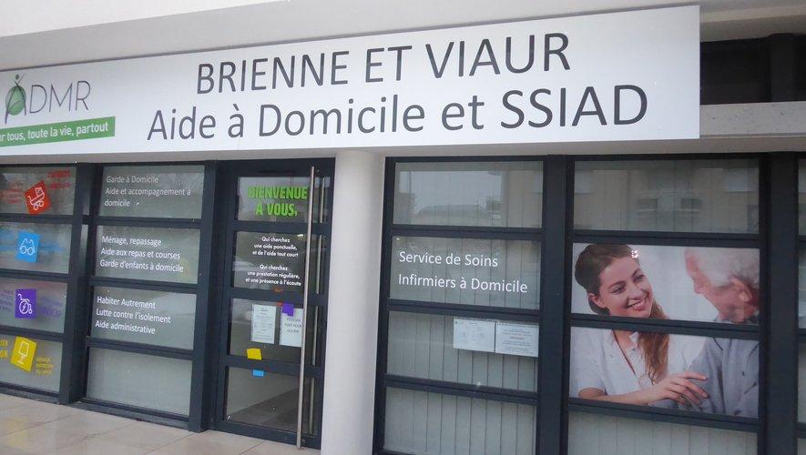 Les nouveaux locaux de l'ADMR Brienne et Viaur, place de l'Etoile à La Primaube.