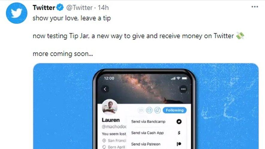 Twitter a assuré que Tip Jar sera bientôt disponible dans d'autres langues et auprès de plus d'utilisateurs.