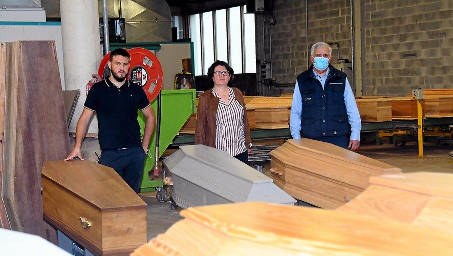 Pour l'entreprise Carles, le cercueil est une affaire de famille
