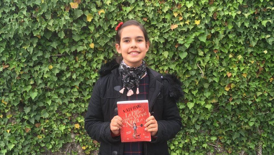 Angélina représentera l'Aveyron aux petits championnats de lecture