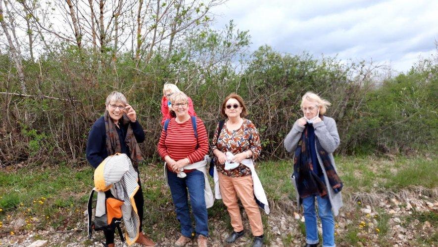 Malgré une météo pas très favorable, le petit groupe a apprécié cette belle sortie nature.