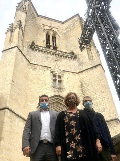 La place Notre-Dame verra  le départ d'une étape de la prochaine Route d'Occcitanie.