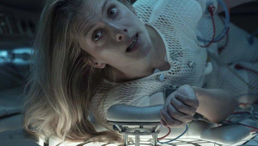 """Mélanie Laurent est à l'affiche du film """"Oxygène"""", disponible mercredi sur Netflix."""